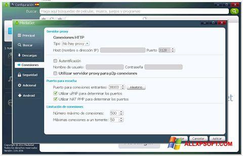 Képernyőkép MediaGet Windows XP