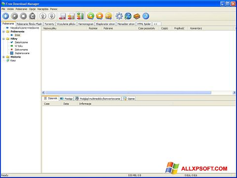 Képernyőkép Free Download Manager Windows XP