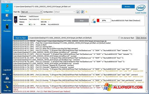 Képernyőkép FlashBoot Windows XP