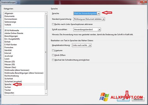 Képernyőkép Adobe Reader Windows XP