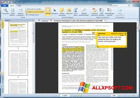 Képernyőkép Nitro PDF Reader Windows XP