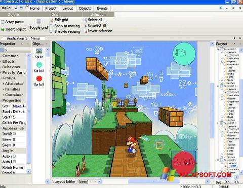 Képernyőkép Construct Classic Windows XP