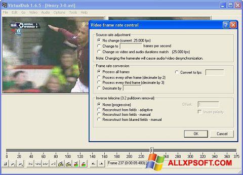 Képernyőkép VirtualDubMod Windows XP