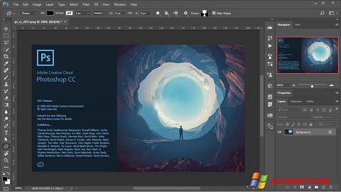Képernyőkép Adobe Photoshop Windows XP
