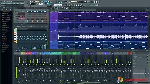 Képernyőkép FL Studio Windows XP