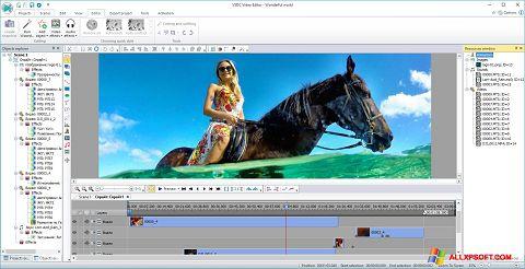 Képernyőkép Free Video Editor Windows XP