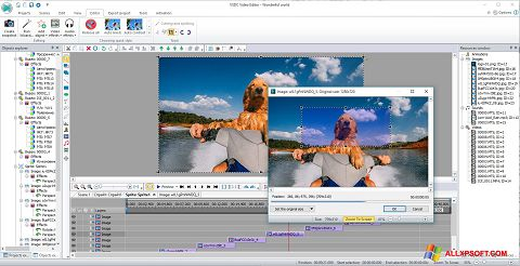 Képernyőkép VSDC Free Video Editor Windows XP
