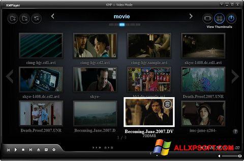 Képernyőkép KMPlayer Windows XP