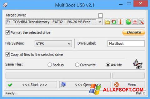Képernyőkép Multi Boot USB Windows XP