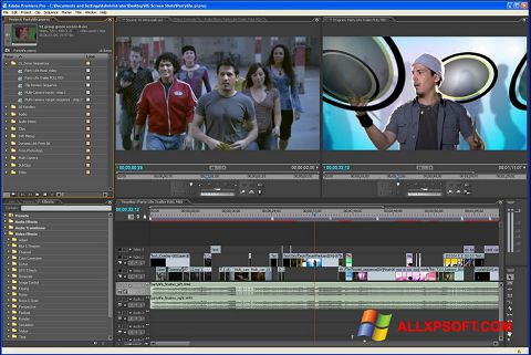 Képernyőkép Adobe Premiere Pro Windows XP