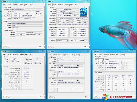 Képernyőkép CPU-Z Windows XP