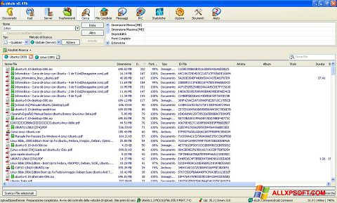 Képernyőkép eMule Windows XP