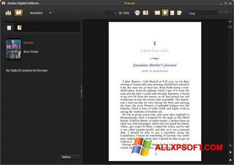Képernyőkép Adobe Digital Editions Windows XP
