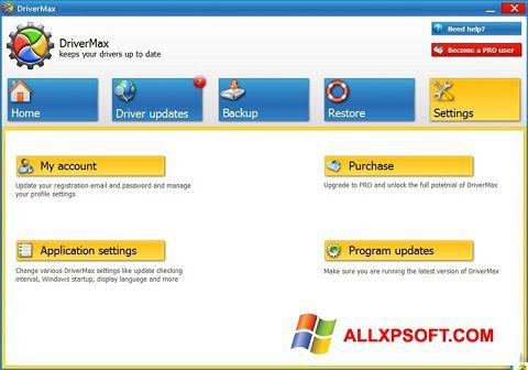 Képernyőkép DriverMax Windows XP