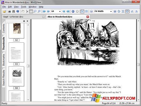 Képernyőkép DjView Windows XP
