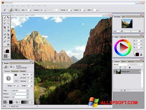 Képernyőkép Artweaver Windows XP