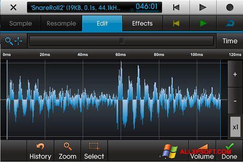 Képernyőkép NanoStudio Windows XP