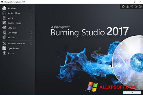 Képernyőkép Ashampoo Burning Studio Windows XP